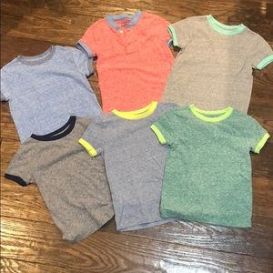 Toddler boys ringer T-shirt bundle